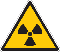 Знаки радиационной опасности