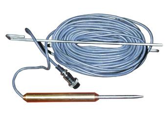 Зонд погружаемый для вязких жидкостей (ЗПГТ.3, с длиной кабеля 3м, возможно изготовление с длиной кабеля 5, 7, 10, 15, 20 м)